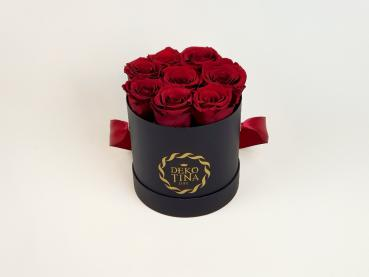 "Flowerbox  ""Black Beauty"" small red"