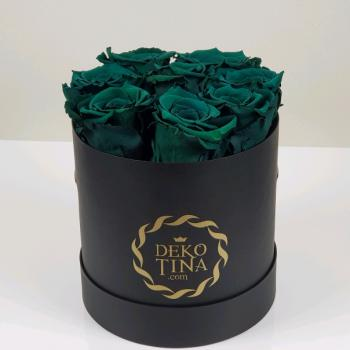 "Flowerbox  ""Black Beauty"" small green"